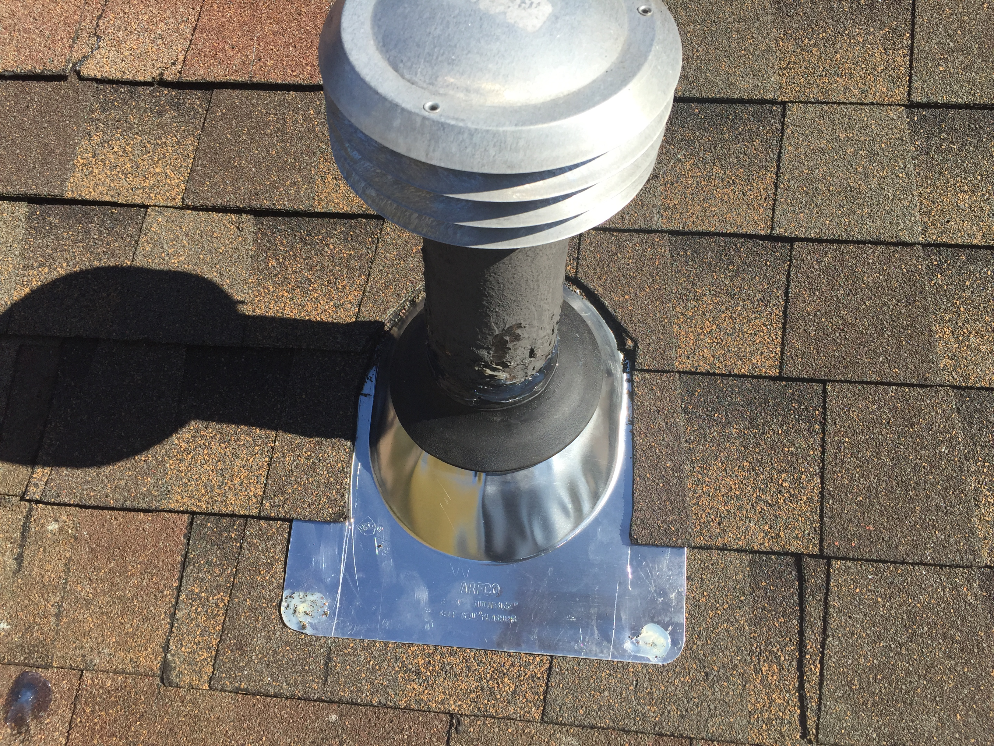 New Vent Pipe Boot Jm Roofing Systems Llc